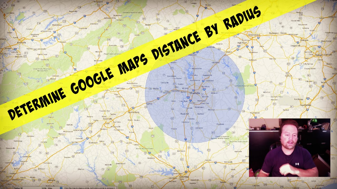 Determine Google Maps Distance By Drawing A Radius on custom radius map, 400 miles by 300 miles map, radius point on a map, printable radius map, google maps radius tool map,