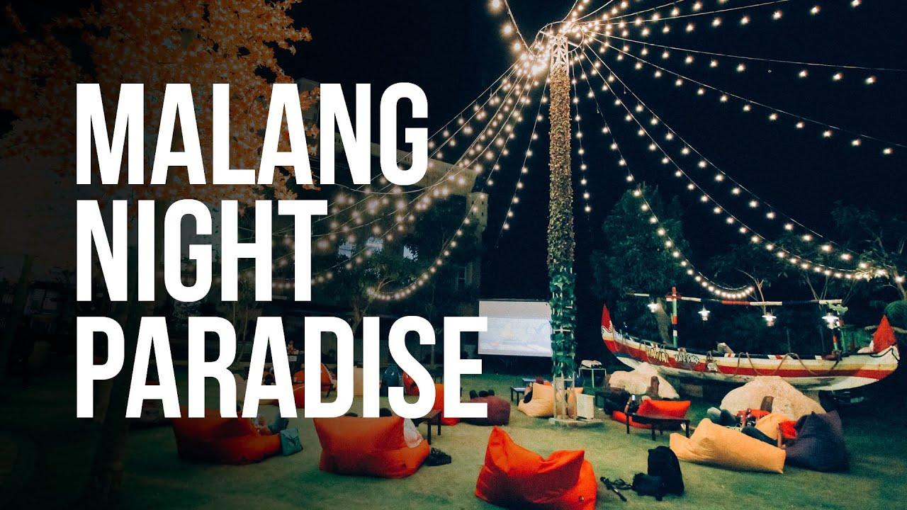 Wisata Baru Dan Murah Meriah Di Kota Malang Malang Night Paradise Youtube