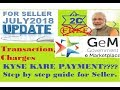GEM 3.0 II PAYMENT PROCESS OF TRANSACTION CHARGES II FOR SELLER II(IN HINDI)