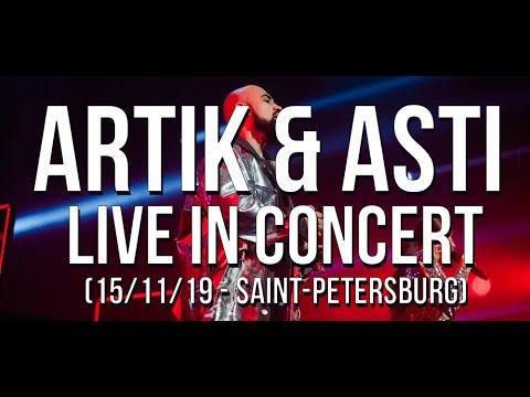 Artik \u0026 Asti - Live In Concert (15/11/19 - Saint-Petersburg)