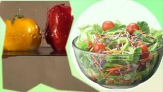 Салат с ростками и проростками