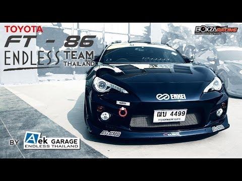 Toyota FT-86 by AEK Garage / Endless Thailand - BoxZa Racing / Racing Magazine