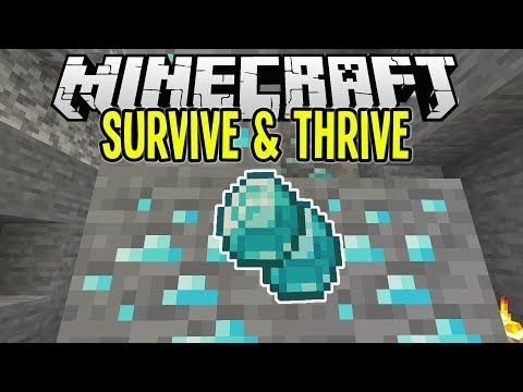 Minecraft | Super Easy DIAMOND Mining! | Minecraft Survival Let's Play Tutorial Ep 9