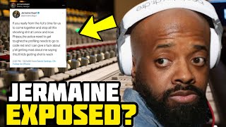 Jermaine Dupri Shows His True Colors With This Disturbing Message About His Own People!