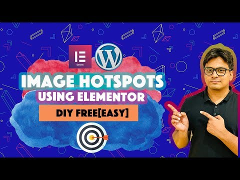 Wordpress Image Hotspots Tutorial:Create Elementor Image Hotspots |using CSS thumbnail