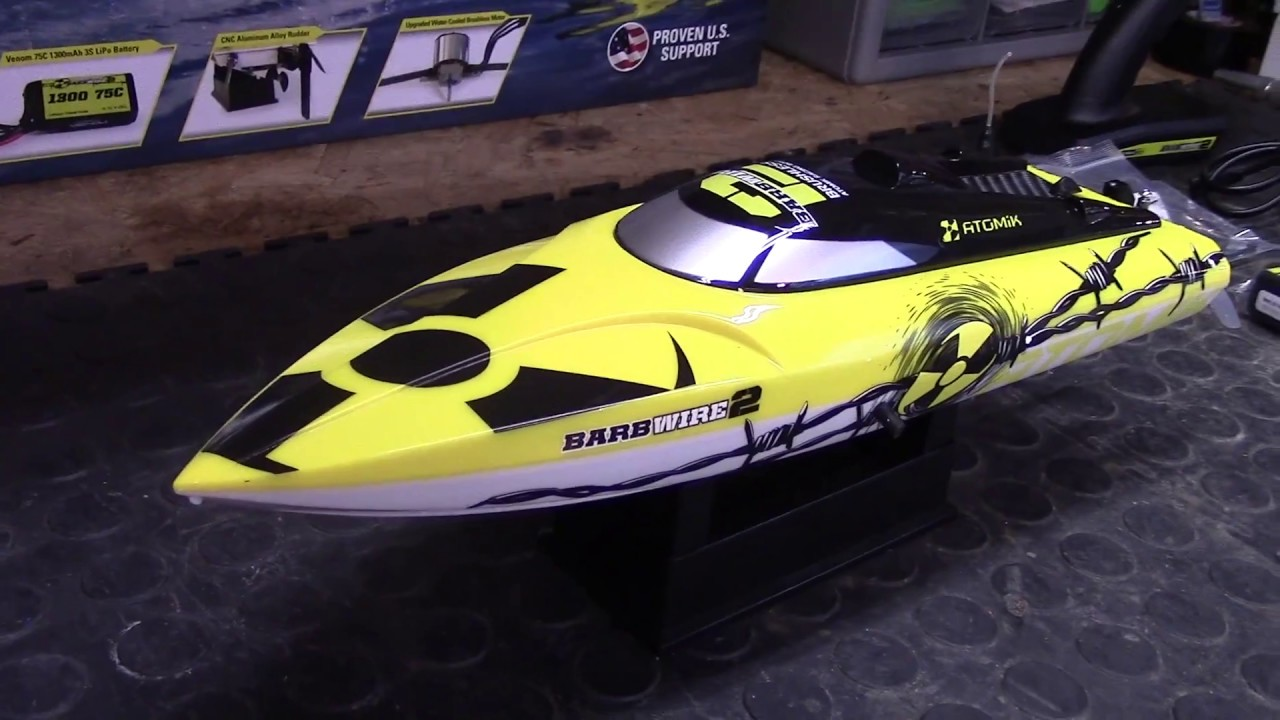 Hull for Atomik Barbwire 2 RTR RC Boat Atomik RC