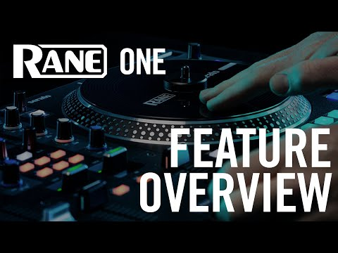 RANE ONE | Professional Motorized DJ Controller | FEATURE OVERVIEW