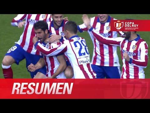 Resumen de Atlético de Madrid (2-0) Real Madrid - HD Copa del Rey