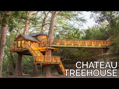 Treehouse Utopia: Chateau Tour