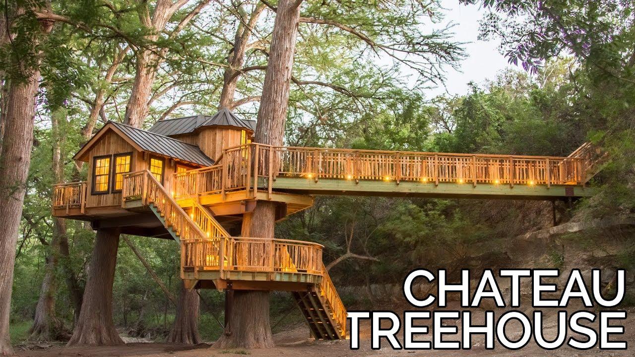 Treehouse Utopia Chateau Tour