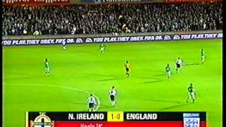 Northern Ireland 1 - 0 England - David Healy