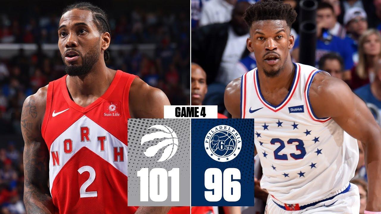 Kawhi Leonard scores 39 as Raptors even series with 76ers | 2019 NBA Playoff Highlights