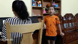 😍Trung Tyt luyện thanh nhạc♥️funny kids songs♥️video clip♥amazing♥discovery