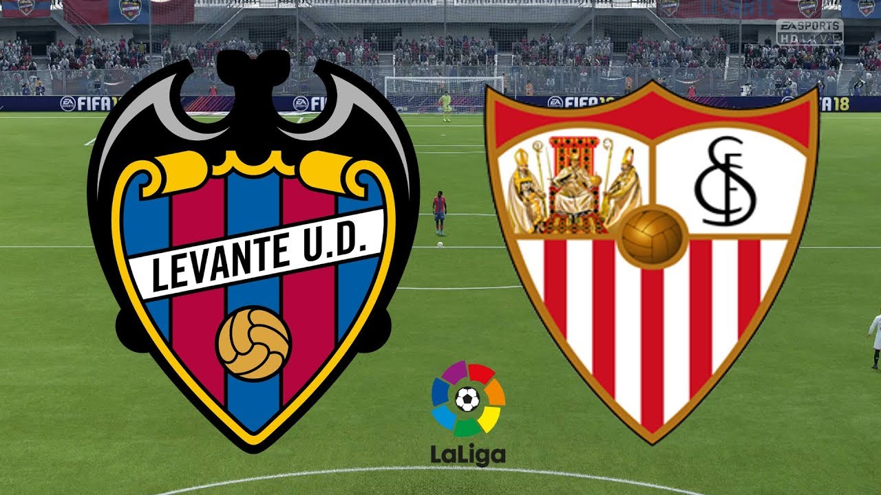 La Liga 2018/19 - Levante Vs Sevilla - 23/09/18 - FIFA 18 - YouTube