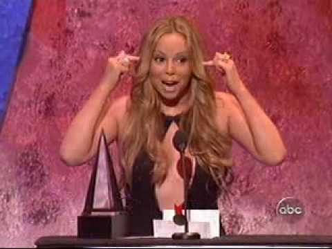 Mariah Carey 2005 AMA Speech following Dont Forget About Us performance