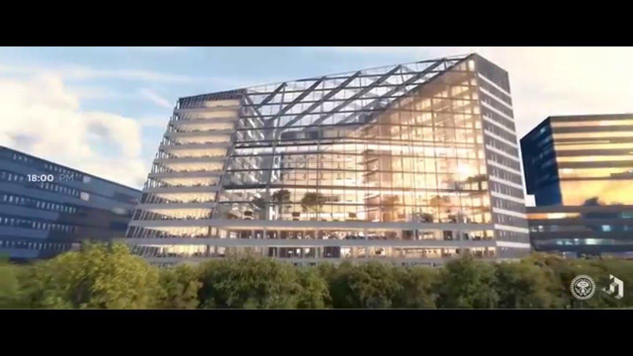 Microsoft Office Trial >> The Edge Amsterdam - deloitte/OVG - YouTube