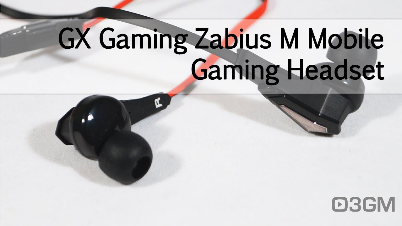 1620 - GX Gaming Zabius M Mobile Gaming Headset Video Review - YouTube ca290c46fb