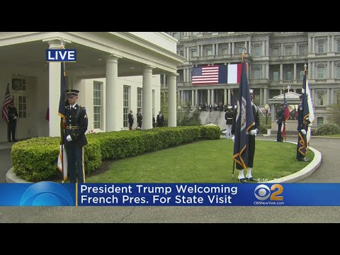 French President Makes State Visit