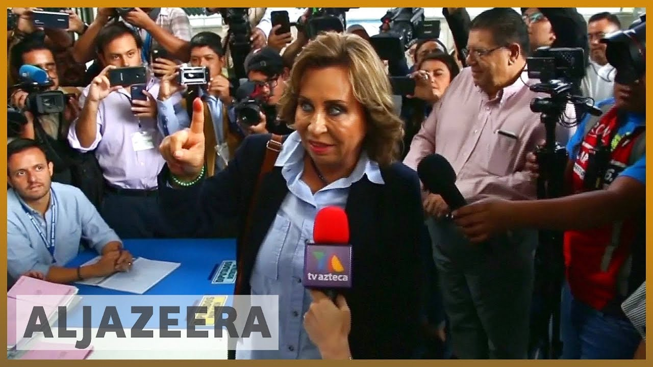 AlJazeera English:Guatemala election: Candidates vow to tackle crime and poverty