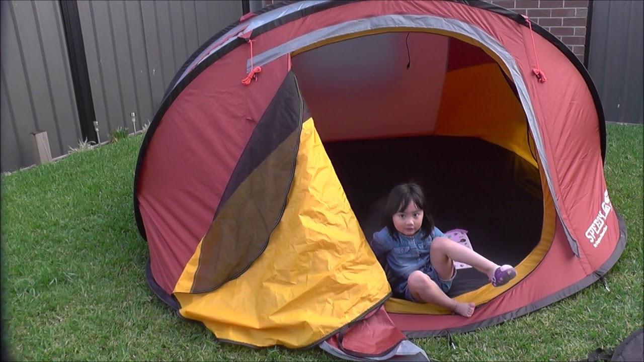 Explore Planet Earth Speedy 4 Pop Up Tent & Explore Planet Earth Speedy 4 Pop Up Tent - YouTube