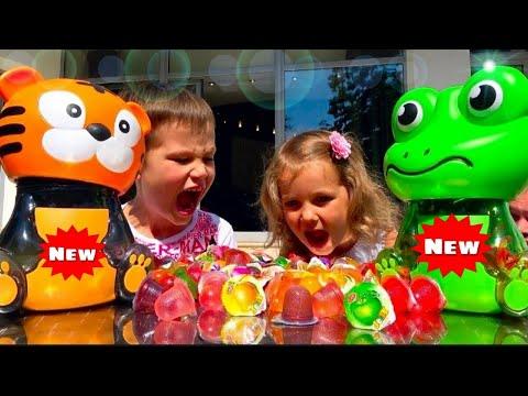 Очень смешные  и новые ПРАНКИ/Супер розыгрыши/ Вкусные Жвачки Конфеты Fanta Bubble Gum