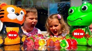 Смешные ПРАНКИ Супер розыгрыши для Люды и Инны Жвачки Конфеты Fanta Bubble Gum