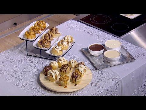 السينابون الأصلي - صوص كريمي للسينابون - صوص أبيض بالكريم تشيز : حلو و حادق حلقة كاملة