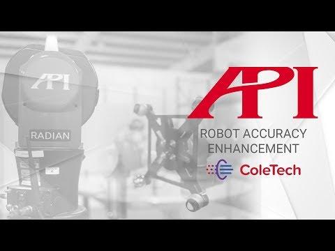 API   Robot Accuracy Enhancement   Cole Tech