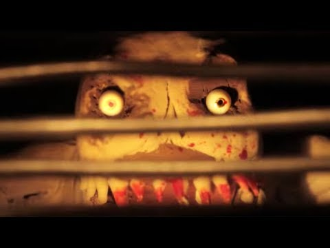 SPOOK TRAIN [room 1]: Curtains | creepy claymation stop motion animation