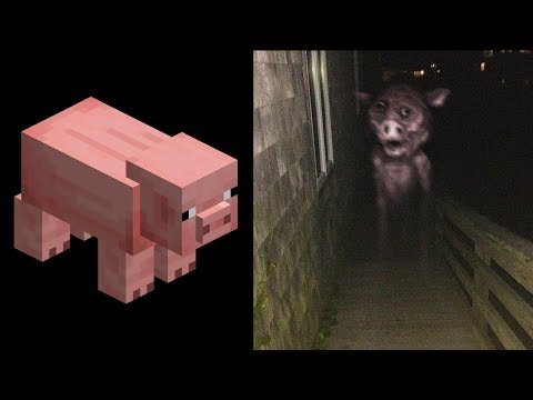 Minecraft Mobs As Cursed Images 2 (EXTRA CURSED)