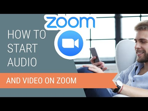 How To Start Audio And Video On Zoom For Android
