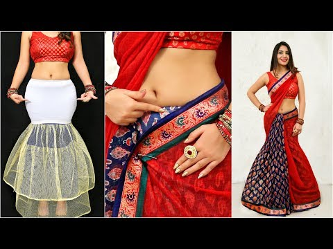 Wear FISH CUT Saree Using This Trick - How To Drape Sari Perfectly | Anaysa