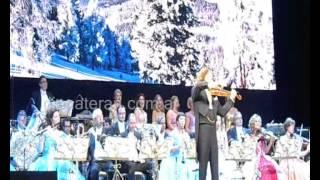 André Rieu en Argentina 1, lluvia de plumas, The Feast of André Rieu in Argentina 1