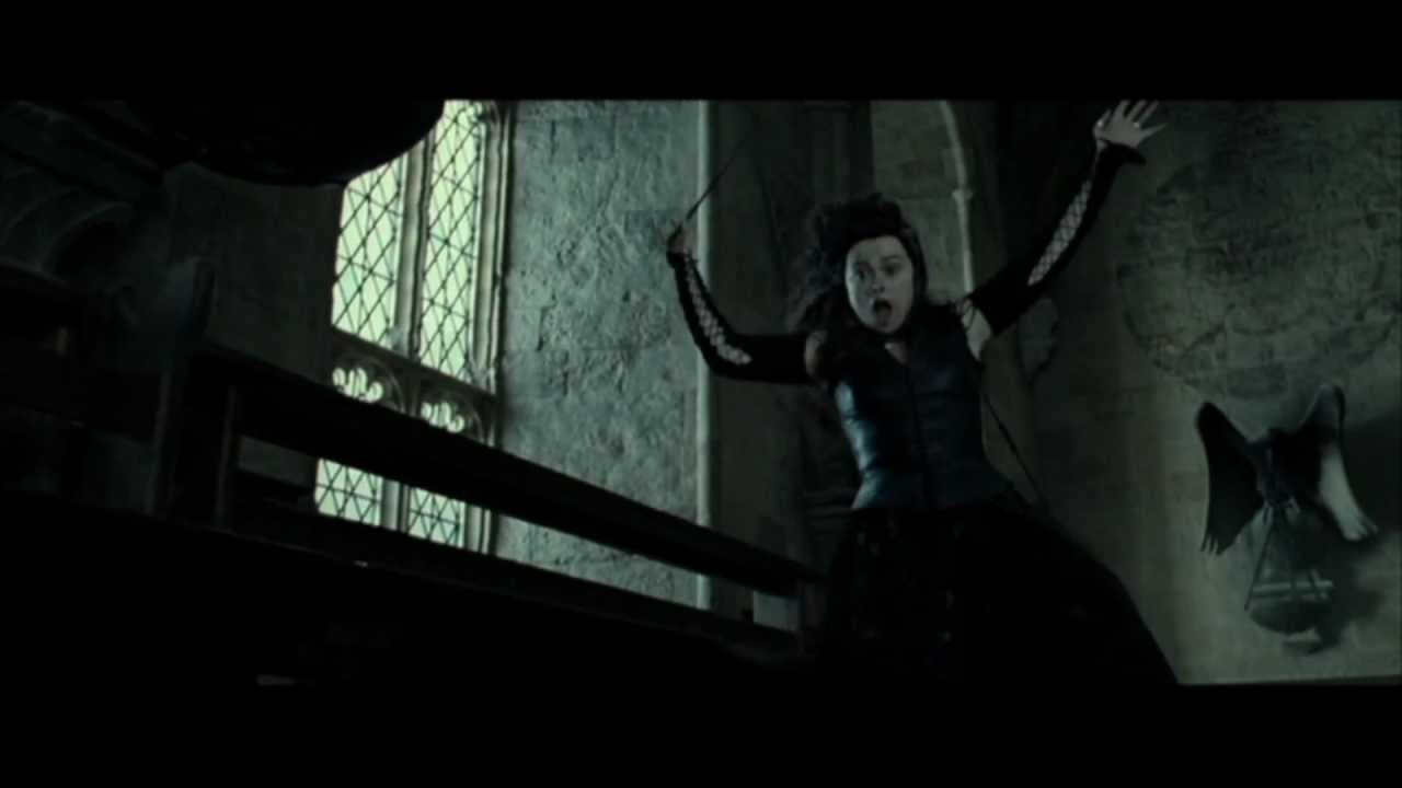 Bellatrix Lestrange vs Molly Weasley (HD) - YouTube