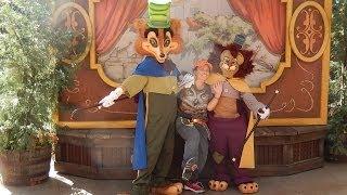 V#11 HSKY Pinocchio-Honest John & Gideon Special Characters Meet Greet BTR 2014 Disneyland HD