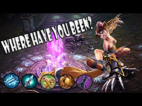 Vainglory Koshka Cp Jungle Cas Ep 105: Been A While!