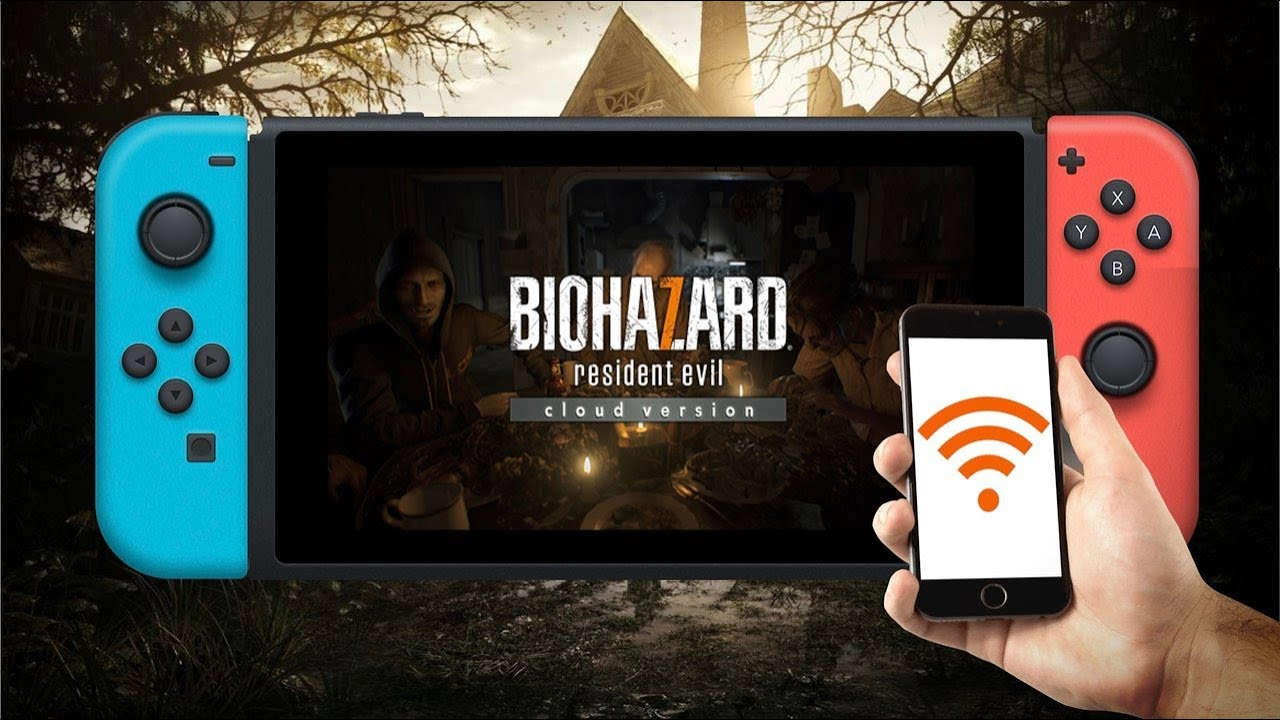 Resident Evil 7 Cloud Version For Nintendo Switch Played Over A Tethered Iphone Connection Youtube
