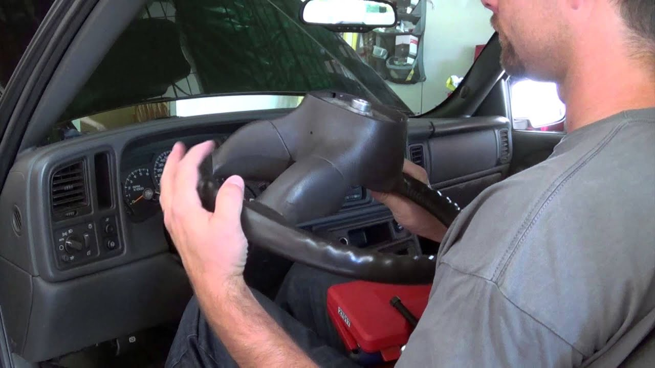 Chevrolet Silverado Modification Grant Leather Steering ...