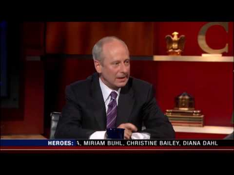 Sandel with Stephen Colbert - Justice
