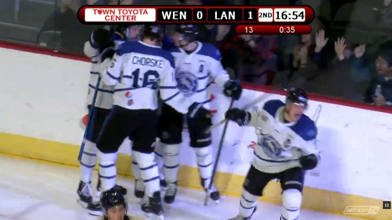 Wenatchee Wild vs Langley Hockey Night 2020-04-02