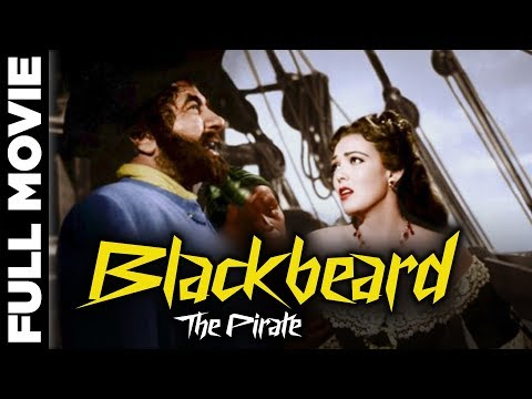 Blackbeard: The Pirate (1952) | Adventure, Romance Movie | Robert Newton, Linda Darnell