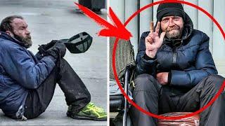 Студент всегда бросал бездомному МОНЕТЫ... Спустя 10-лет они ВСТРЕТИЛИСЬ снова...
