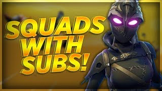 [PS4] Fortnite With Subscribers! NEW RAVAGE SKIN GIVEAWAY! Fortnite Battle Royale Live!