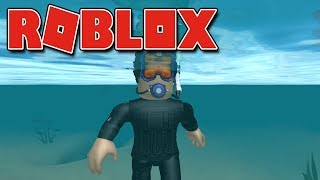 ROBLOX-I TURNED a TREASURE HUNTER (Scuba Diving at Quill Lake)