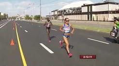Yleisurheilun MM-kisat Moskova 10.8.2013 naisten maraton loppuu ja ilta osa 1