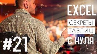 Видеоуроки Excel для начинающих. Урок 21. Вставка нескольких строчек (ячеек) в таблицу