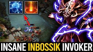 INSANE INBossik Invoker 30 kills - PERFECT COMBO SKILL + IMBA Blink Dagger plays | Dota 2 Invoker