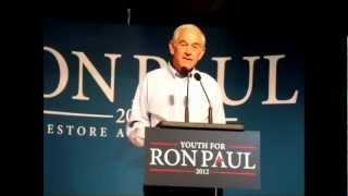 Ron Paul Speech At Cornell University (Full Speech)