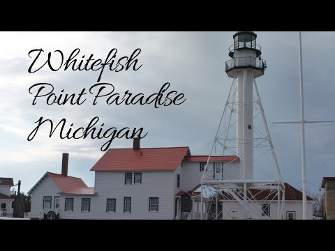 Whitefish Point In Paradise Michigan!