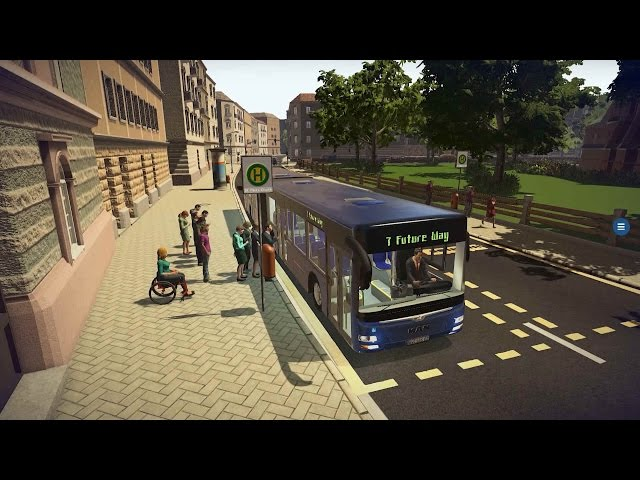 Bus Simulator 16 (видео)
